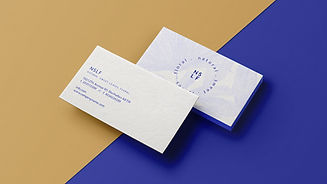 Business card by Mousy Web Design
