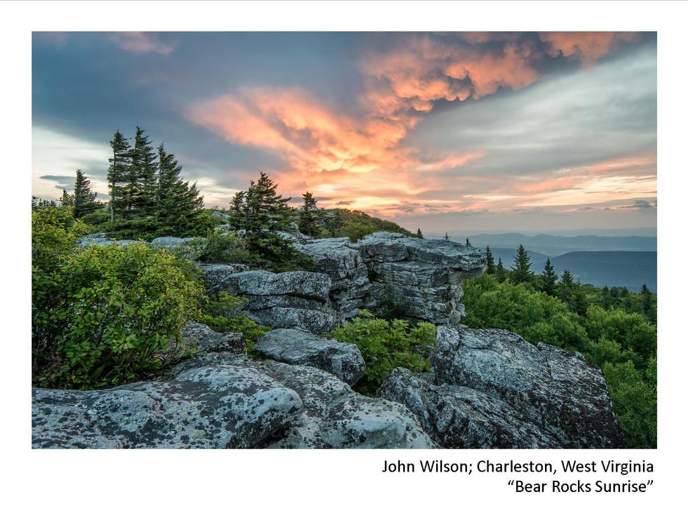 2020 Winners - John Wilson - Bear Rocks