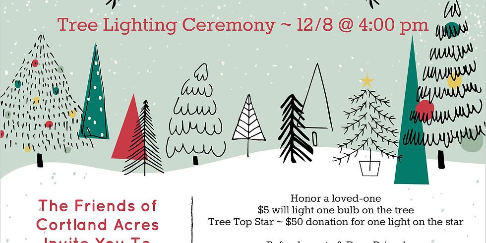 """Light Up A Life"" Tree Lighting Ceremony"