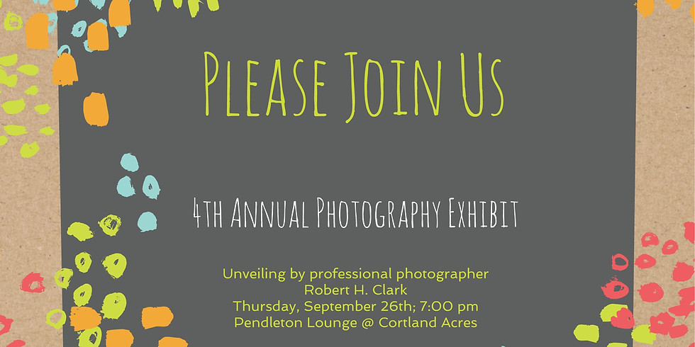4th Annual Photography Exhibition