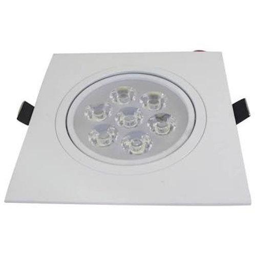 Lampada Spot 7w Quadrado Super Led Direcionável
