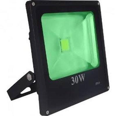 Refletor 30w Bivolt cor verde