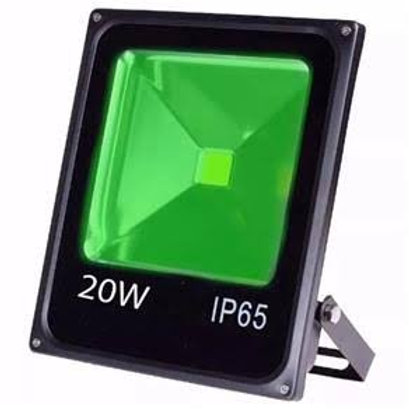 Refletor 20w Bivolt cor verde