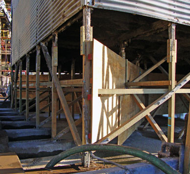 AFTER - Wood Structure Replacements