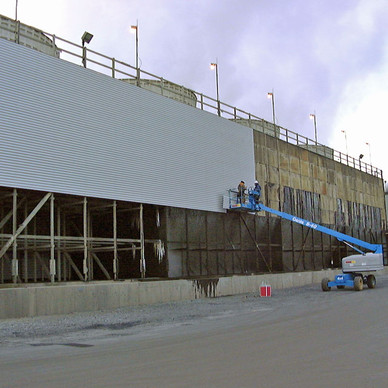 New Cooling Tower Siding