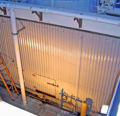AFTER - New Cooling Tower Cladding