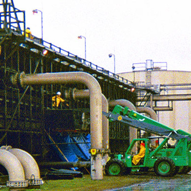 DURING - Cooling Tower Fill Replacement