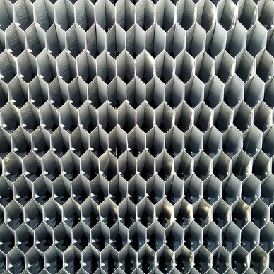 AFTER - Cooling Tower Fill with Integral Air Inlet Louver