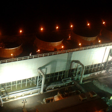 Cooling Tower Night Inspection