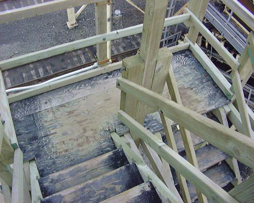 BEFORE - Cooling Tower Stairway Repairs