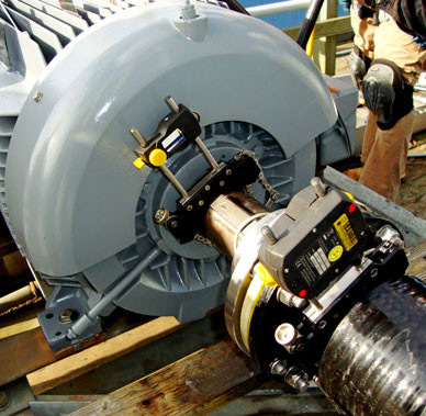 Cooling Tower Mechanical Equipment Alignment