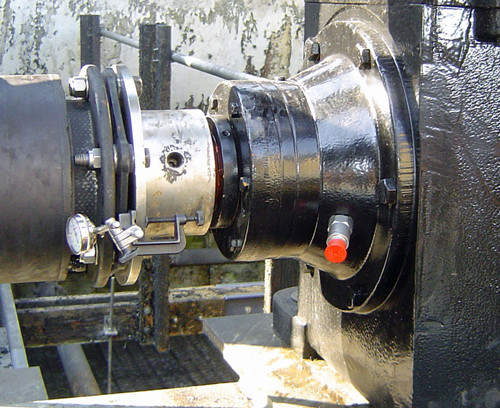 Cooling Tower Motor and Gear Alignment