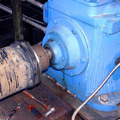 BEFORE - Cooling Tower Gear Reducer Modification