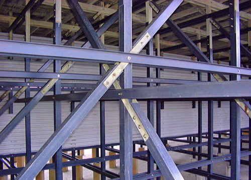 AFTER - Cooling Tower Wood to Fiberglass Structural Conversion