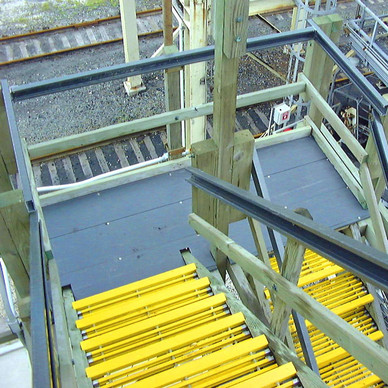 AFTER - Cooling Tower Stairway Repairs