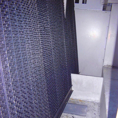 AFTER - Cooling Tower Heat Transfer Surface Replacement