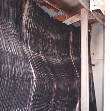 BEFORE - Cooling Tower Heat Transfer Surface Replacement