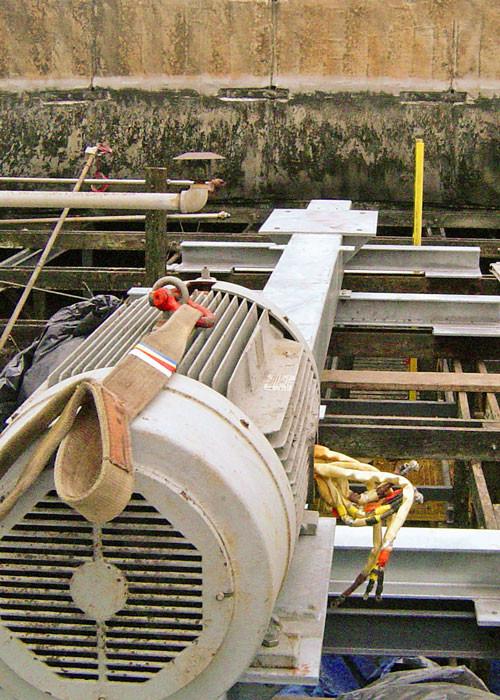 New Hot Dip Galvanized Mechanical Equipment Support - Square Torque Tube