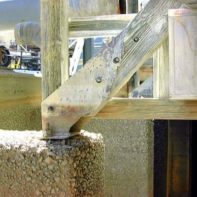 BEFORE - Cooling Tower Basin Repairs