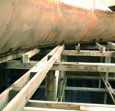 BEFORE - Cooling Tower Fan Deck & Fan Deck Support Replacement