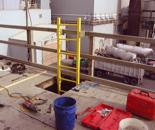 AFTER - Cooling Tower Access Ladder