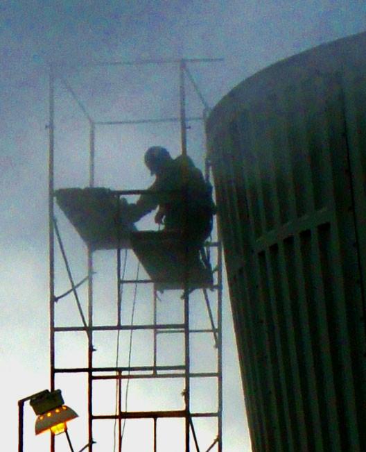 REPAIR - Cooling Tower Fan Stack / Fan Shroud Repairs