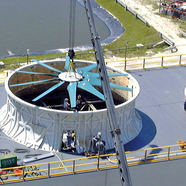 IMPROVED - New Engineered Cooling Tower Fan Replacement
