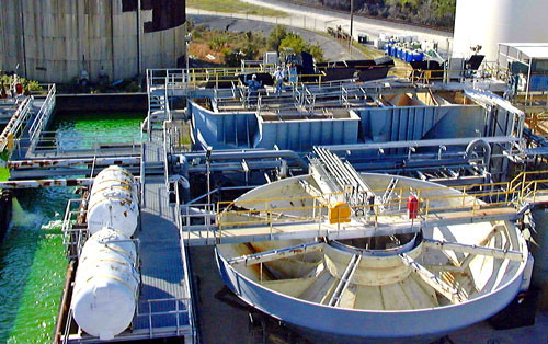 Water Treatment Clarifiers & Filtration