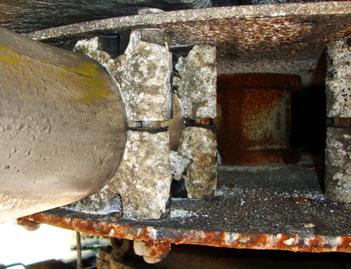 BEFORE - Cooling Tower Fan Repairs