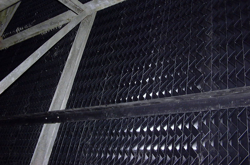 AFTER - Cooling Tower Drift Eliminator Replacement