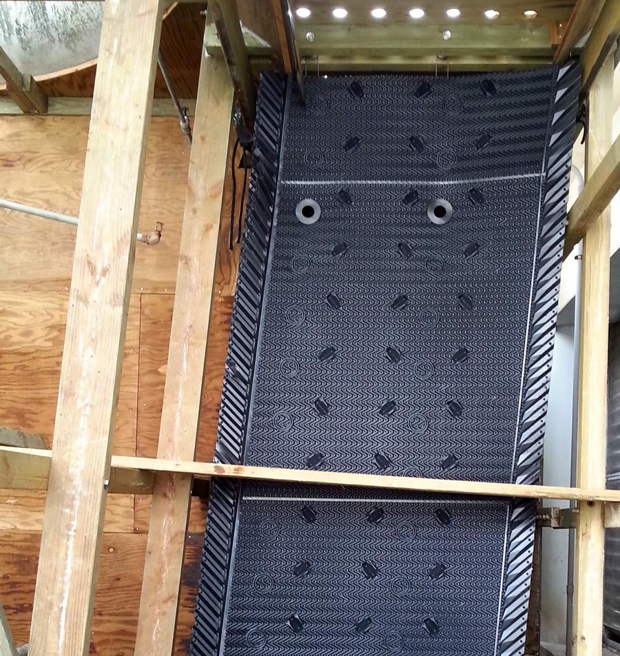 Cooling Tower Fill Replacement