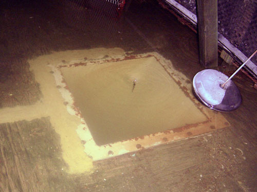 Submerged Cooling Tower Basin Repairs