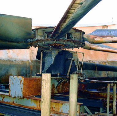 BEFORE - Engineered Cooling Tower Axial Fan Replacement