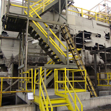 BEFORE - New Cooling Tower Casing