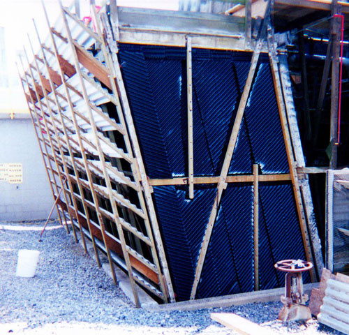 DURING - Cooling Tower Heat Transfer Surface / Cooling Tower Fill Replacement