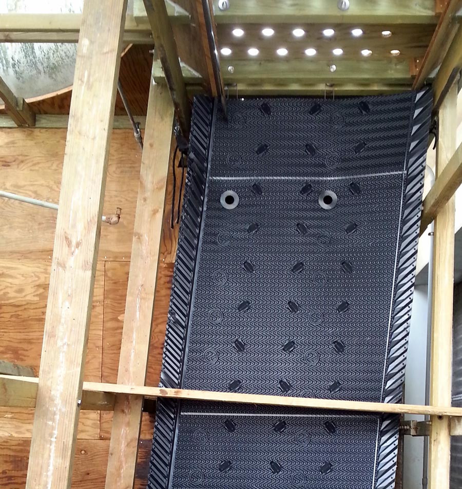 Cooling Tower Heat Transfer Surface / Cooling Tower Fill Replacement