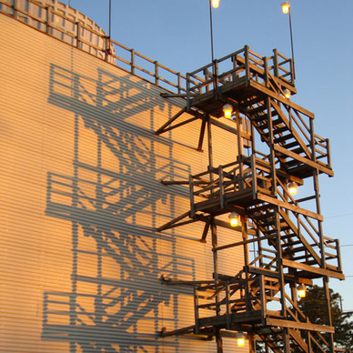 Cooling Tower Stairs & Cooling Tower Stairways