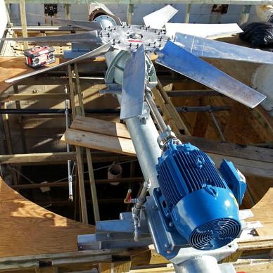 New Cooling Tower Motor & Mechanical Equipment Set