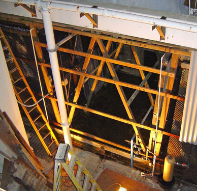 DURING - New Cooling Tower Cladding