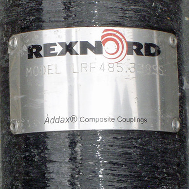 New Rexnord Addax Composite Cooling Tower Couplings / Drive Shafts