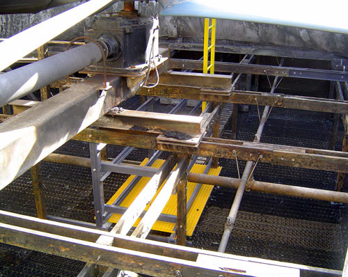AFTER - Cooling Tower Maintenance Walkways