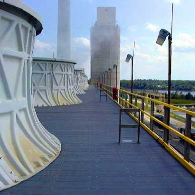 AFTER - Cooling Tower Fan Deck Replacement
