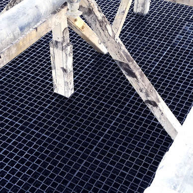New Cooling Tower Maintenance Walkways & Traffic Grids