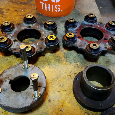 AFTER - Cooling Tower Coupling Flexible Bushing Replacements