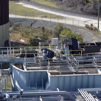 Water Treatment Clarifiers & Filtration Repairs