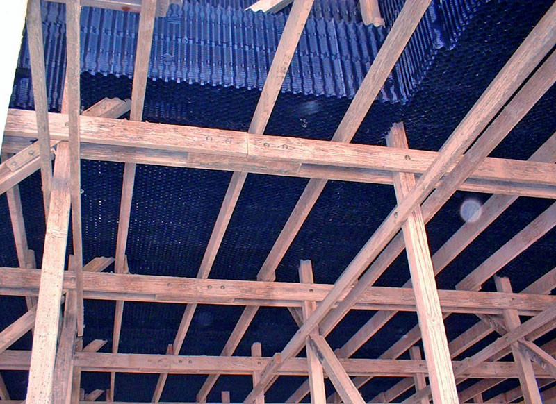 AFTER - Cooling Tower Heat Transfer Surface / Cooling Tower Fill Replacement