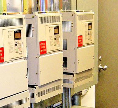 Cooling Tower Variable Frequency Drives