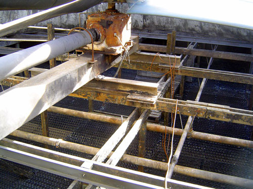 BEFORE - Cooling Tower Maintenance Walkways