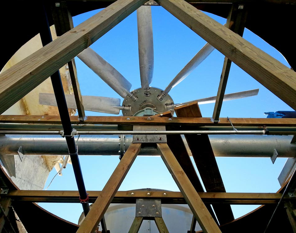 New Hot Dip Galvanized Mechanical Equipment Support - Round Torque Tube