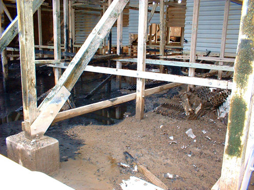 BEFORE - Lumber to FRP Structural Conversion